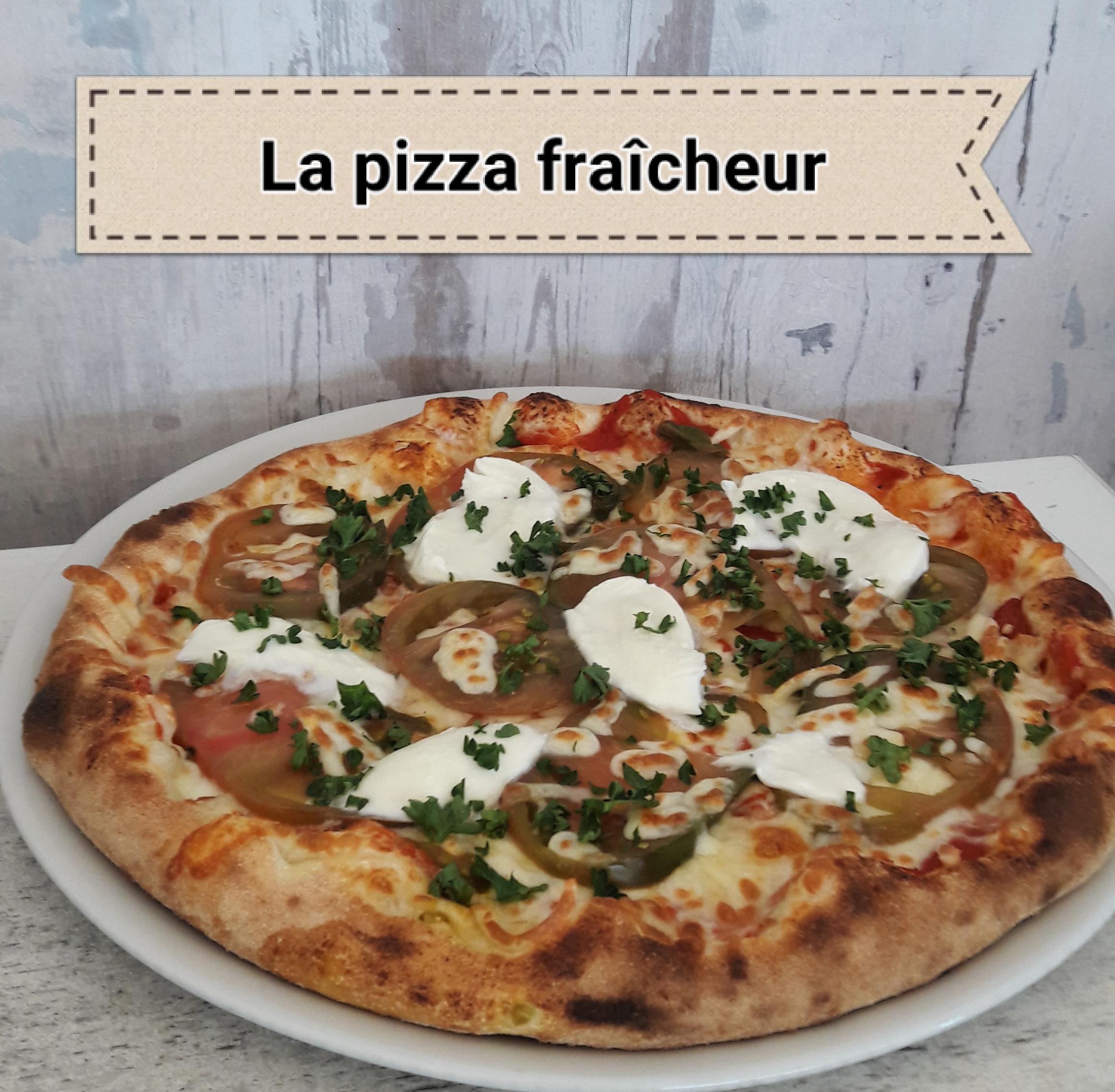 PIZZA FRAICHEUR