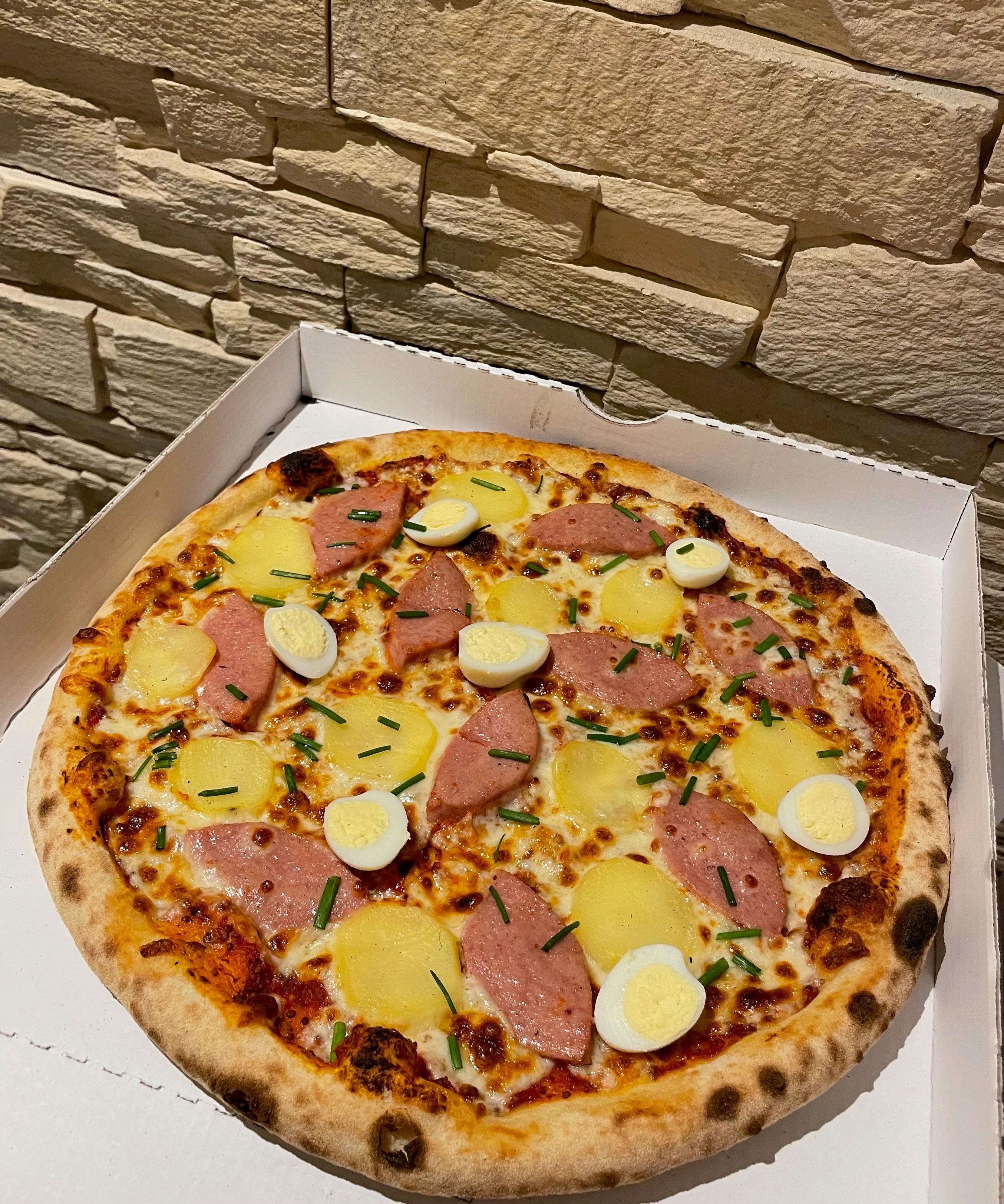 pizza cervela